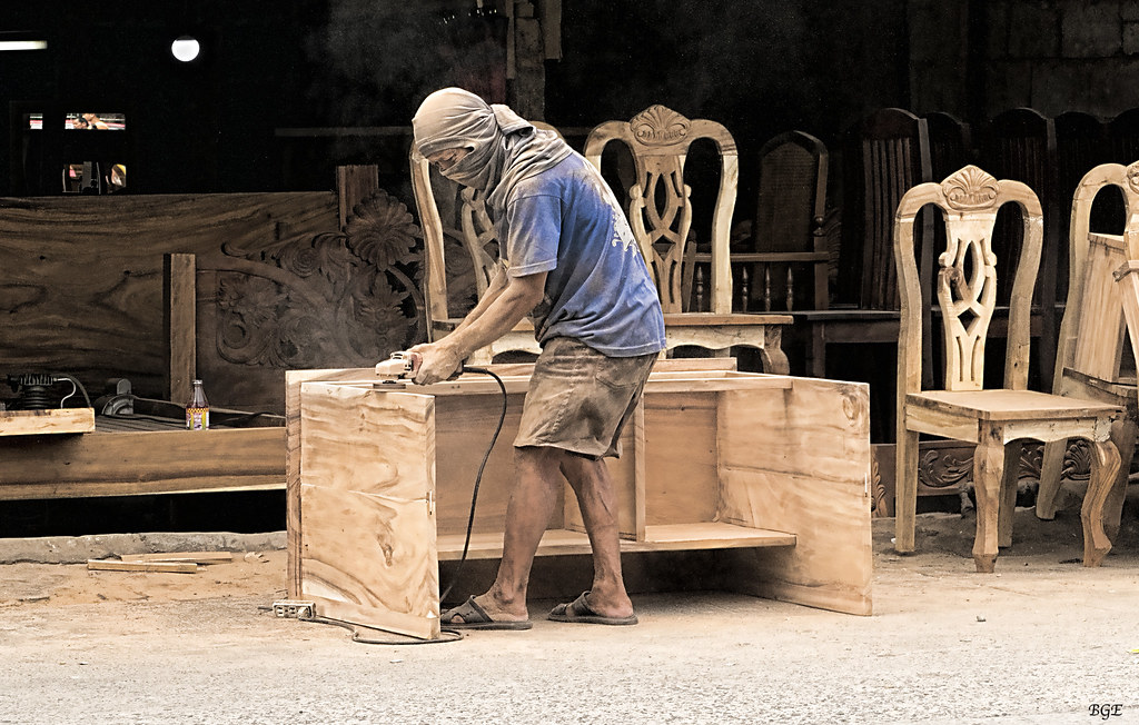 Cabinet Maker Bacolod City  This is a roadside furniture