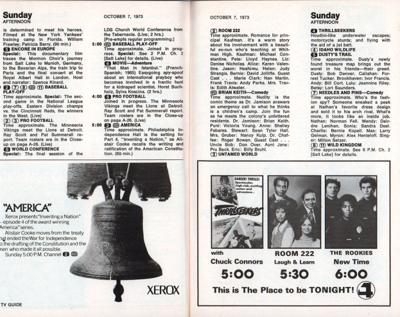 TV Guide (October 6-12, 1973)