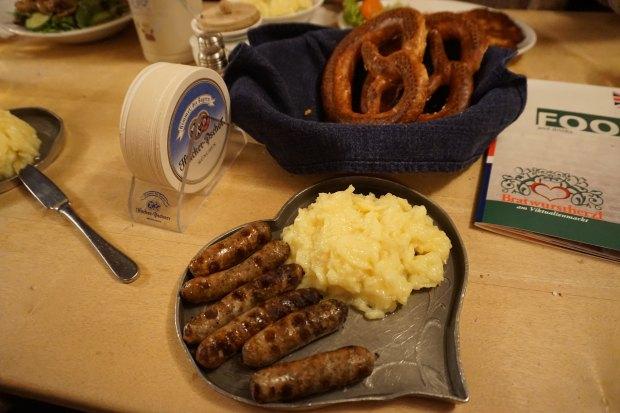 Munich - German traditional food