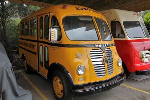 1954 International Harvester R150 Metro school bus  Flickr