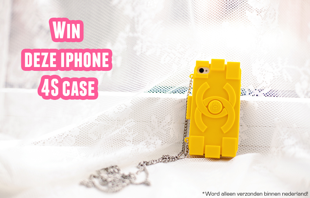 Win deze iphone 4S case