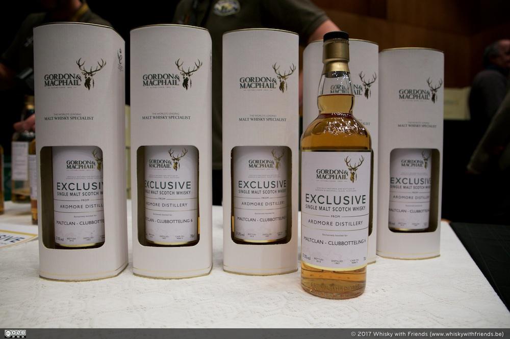 De Clubbotteling van het Maltclan Whiskyfestival is dit jaar een Ardmore 1997 - 2016 van Gordon & MacPhail geworden.