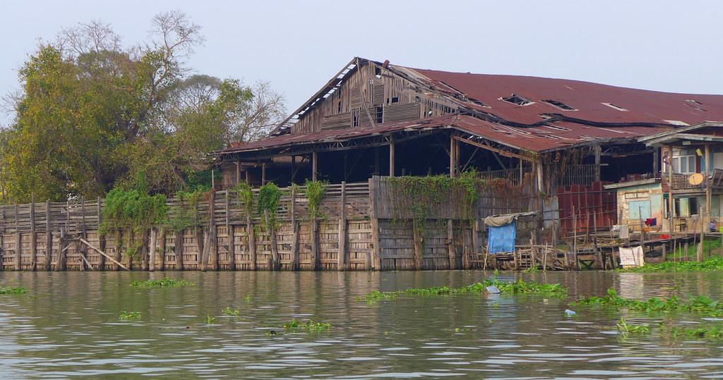 Thaïlande - Ayutthaya - 140 - Sur la Chao Phraya