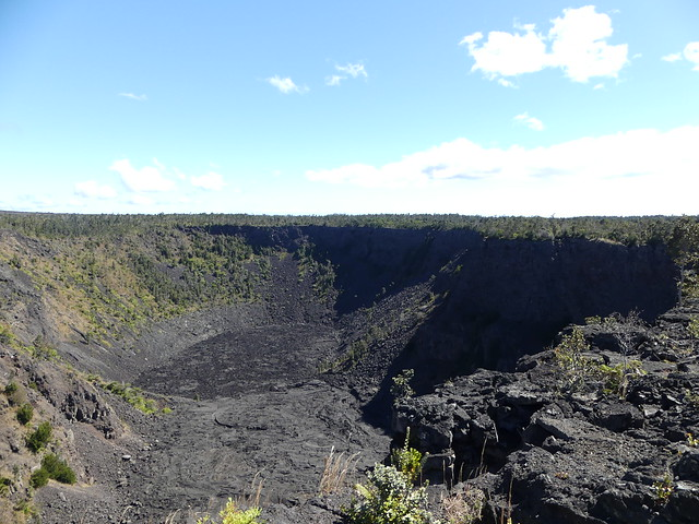 Big Island in 3 days: Crater at Volcano National Park