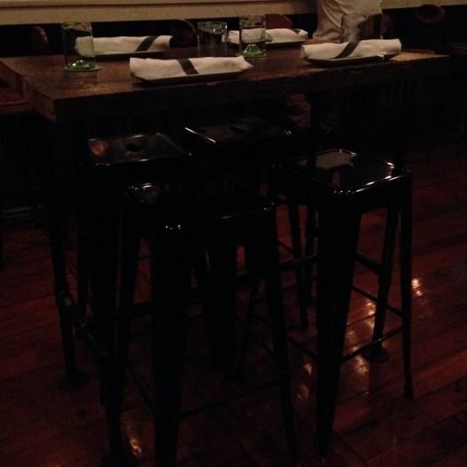 Bar Stools at Root, New Orleans