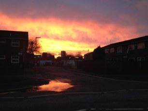 Manchester sunrise