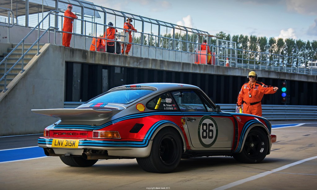 Jeremy Cooke 1974 Martini Racing Porsche 911 RSR Pt3