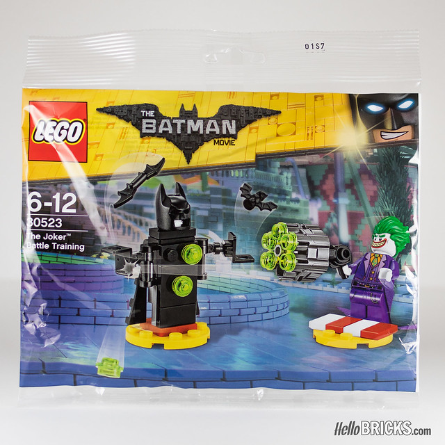 REVIEW LEGO 30523 The Joker Battle Training (polybag The LEGO Batman Movie)