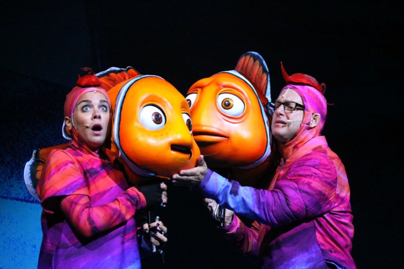 Finding Nemo the Musical Animal Kingdom Oct 2016 35