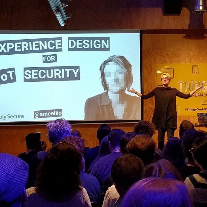 Ame on UX   security for iot   thingsconAMS