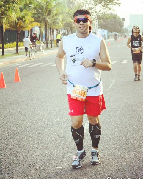 Struggling but not quitting - Photo by Bicolano Runner.