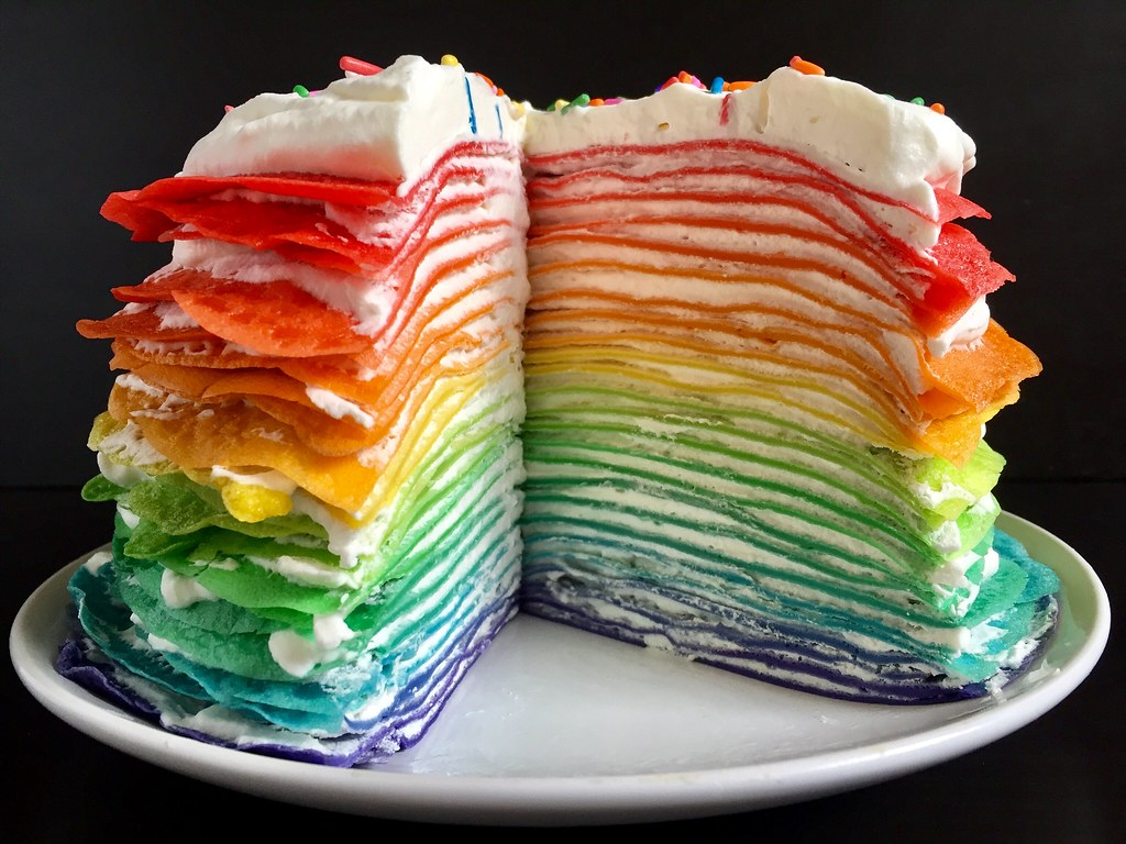 Rainbow Crepe Cake The Cooking Of Joy Blogspot Com 2017