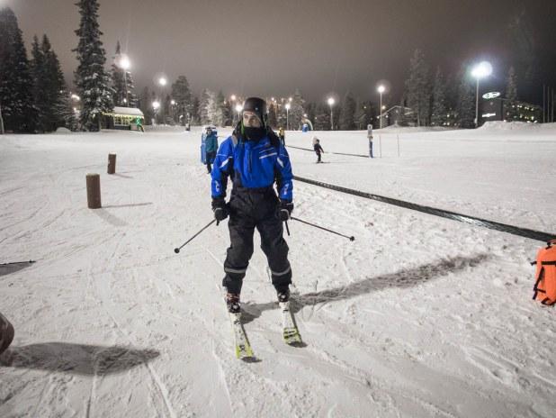 Esqui en Finlandia