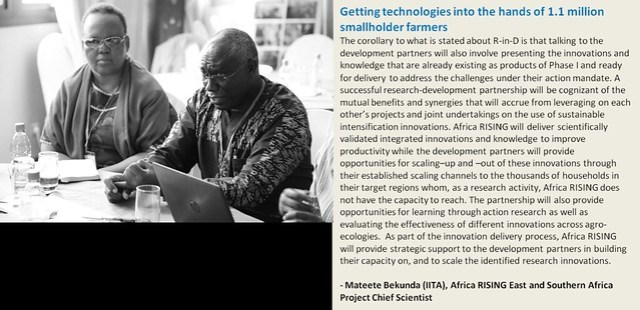 The vision of success - how Africa RISING intends to reach 1.1 million farmers with improved agricultural technologies