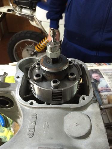 Frizione Lambretta 150D