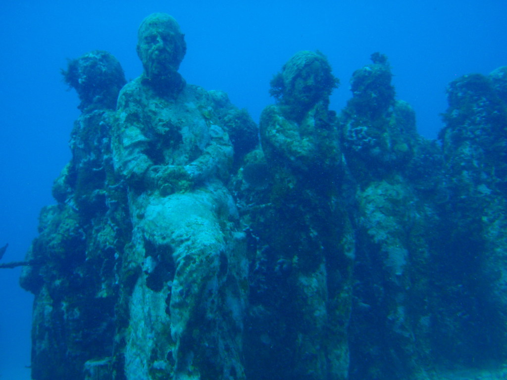 We are the reef  At Museo Subacuatico de Arte aka MUSA
