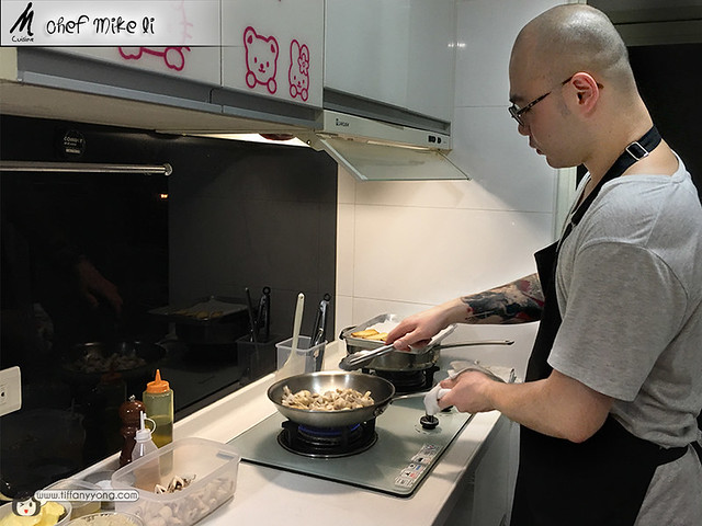 M Cuisine Chef Mike Li