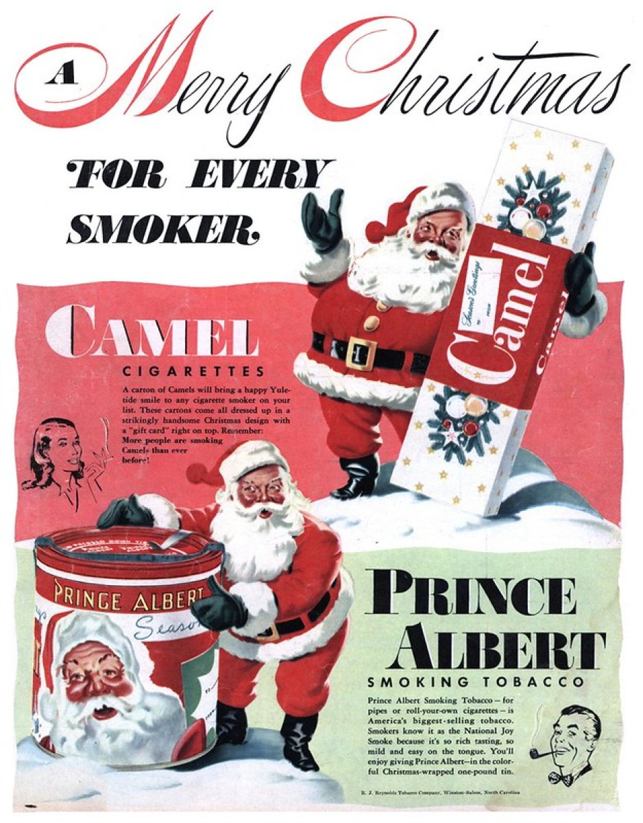R. J. Reynolds Tobacco Company/Camel/Prince Albert - published in Look - December 23, 1947