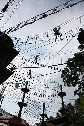 【2015大馬吉隆坡、檳城之旅】大自然下的樂園:檳城ESCAPE(逃生冒險主題樂園)超級推薦!!(11 ys)