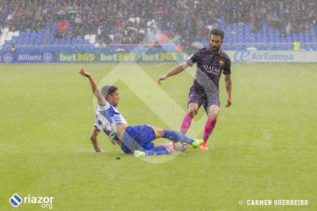 Liga Santander. RC Deportivo 2 - FC Barcelona 1