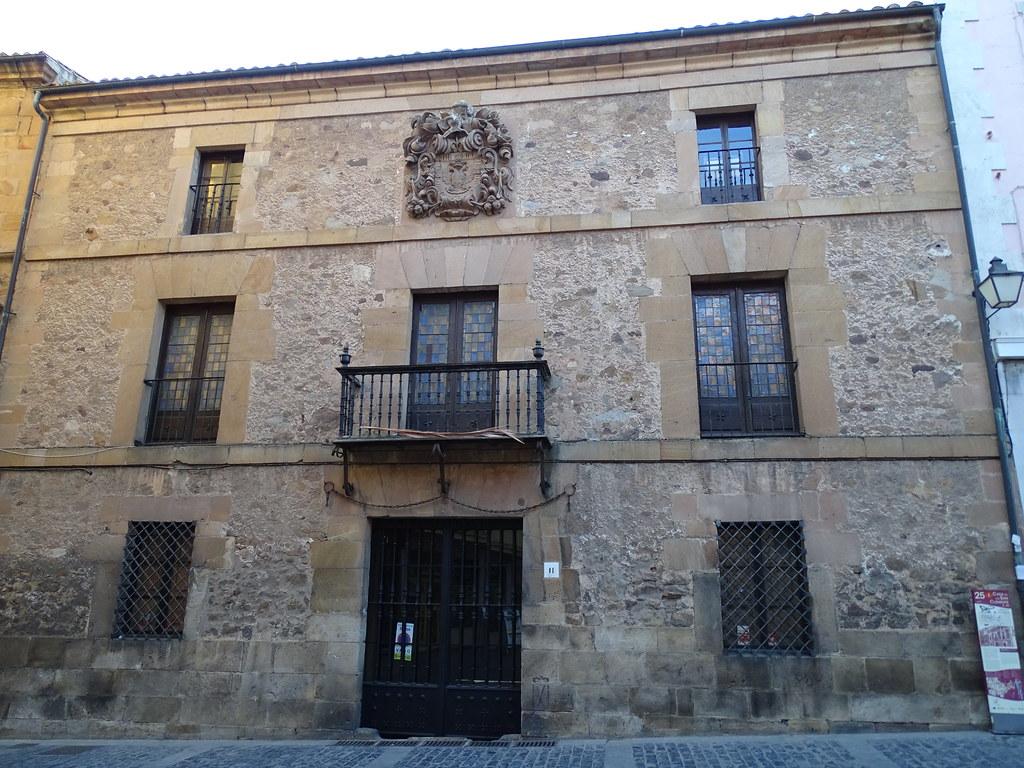 Palacio del Vizconde de Eza linaje de  San Clemente Soria