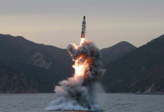 North Korea fires missiles, three reach Japan waters