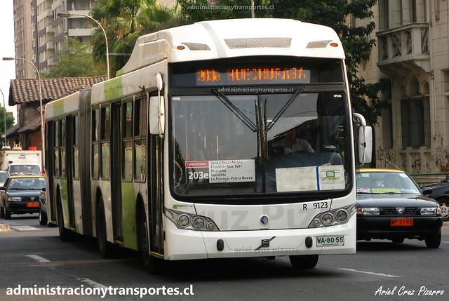 Transantiago 203e | Subus | Caio Mondego LA - Volvo / WA8055