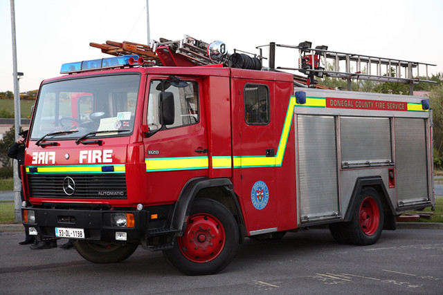 Buncrana Fire Tender  one of the local brigades tender