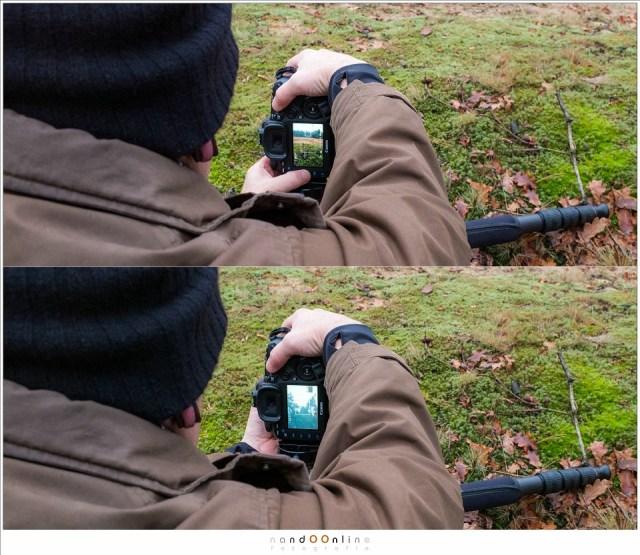 Met live view inzoomen op het verste object en vervolgens de DOF knop ingedrukt houden maakt het mogelijk om de scherpte exact op de hyperfocale afstand te krijgen. Het vergt wel oefening en nauwkeurig werken. Gebruik sowieso altijd een statief. (foto: Hetwie)