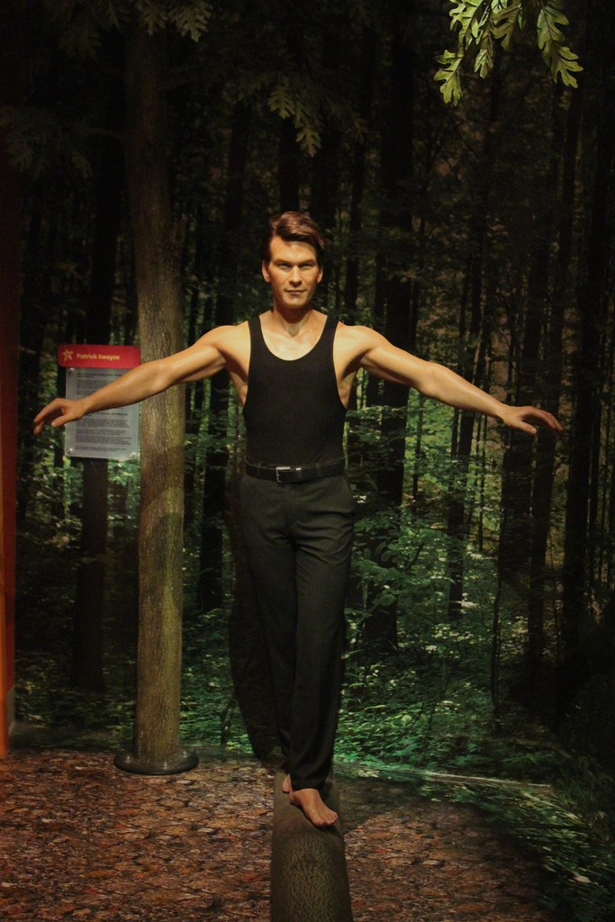 Dirty Dancing  1987   Patrick Swayze Madam Tussaud