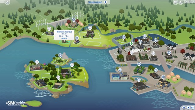 Plan Sims 4