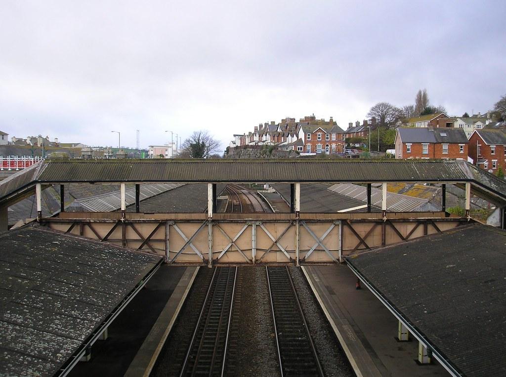 Teignmouth GWR Footbridge Under Repair  Teignmouth Station  Flickr