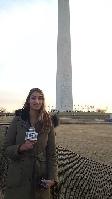 WRHU Reporters at the 2017 Inauguration/Women's March