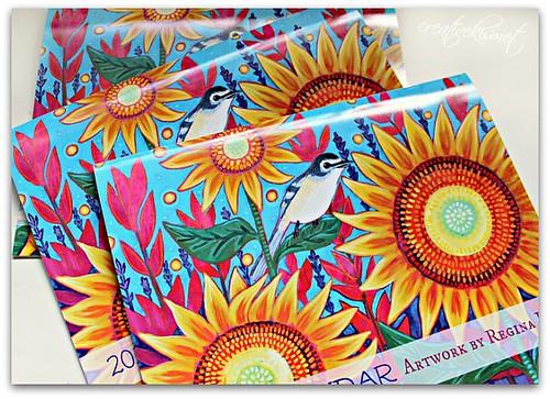 Art calendars by Regina Lord
