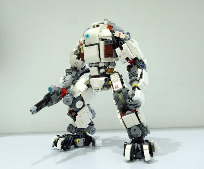 Lego titanfall mech