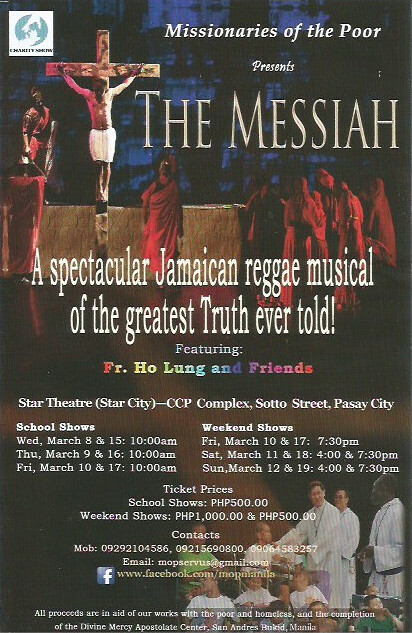 The Messiah - Missionaries of the Poor