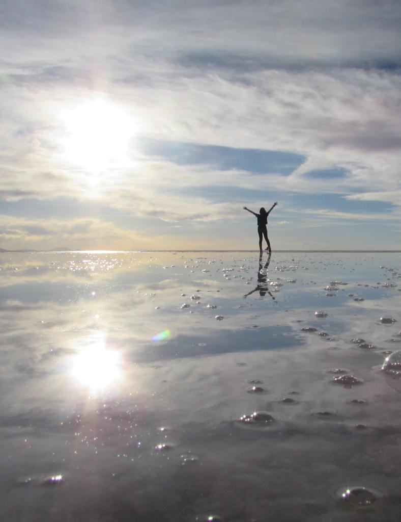 espejo  Efecto espejo Salar de Uyuni  Lemoned I