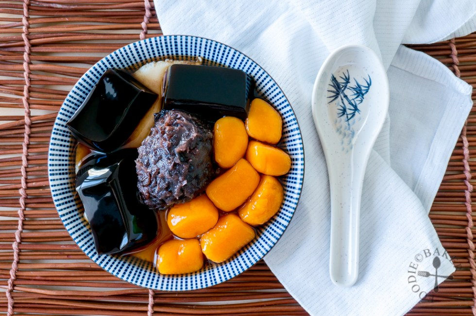 Taiwanese Jiu Fen Sweet Potato Balls [九份地瓜圆]