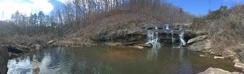 Todd Creek Falls Panorama