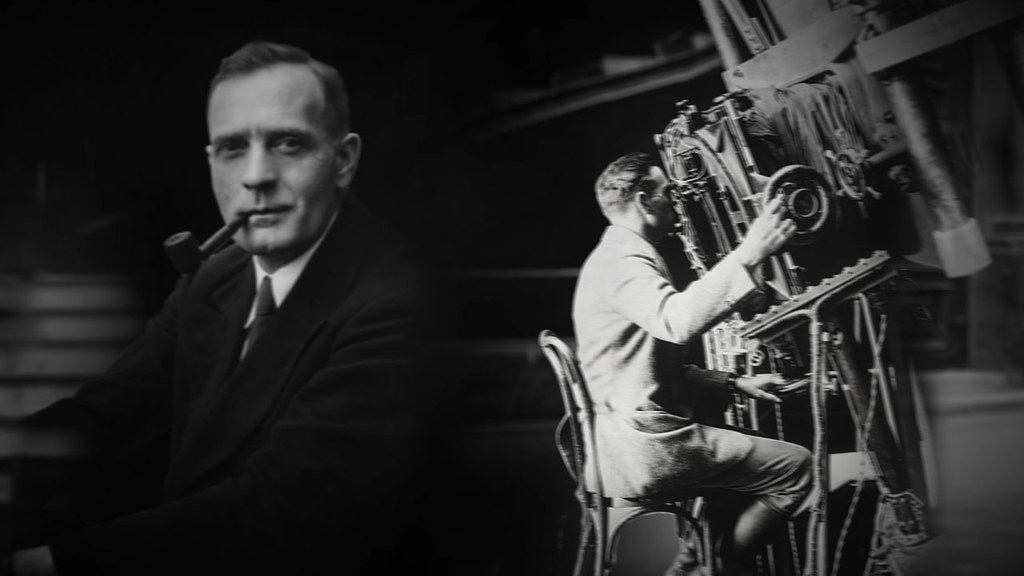 Still from Hubblecast episode 89 Edwin Hubble  This is a