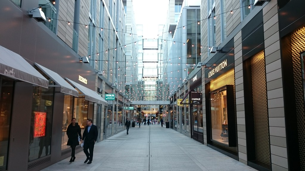 CityCenterDC in Dec catenary lights  Payton Chung  Flickr