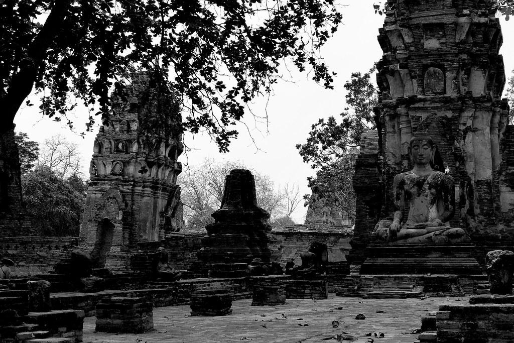Thaïlande - Ayutthaya - 019 - Wat Maha That