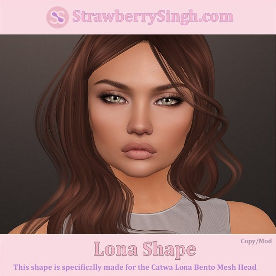StrawberrySingh.com Lona Shape