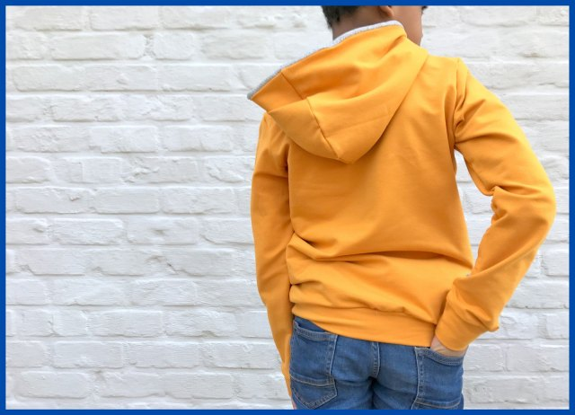 yellow hoodie (back)