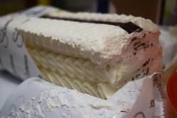 White Ice Cream Cake Belgrade