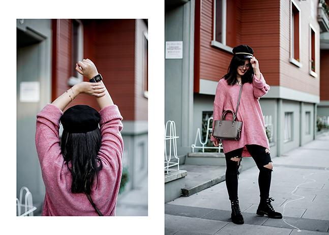 maxi-jersey-rosa-hm-pantalones-rotos-botas-terciopelo-stradivarius-carmen-acosta-streetstyle2