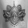 Mehndi lotus flower tattoo flickr photo sharing