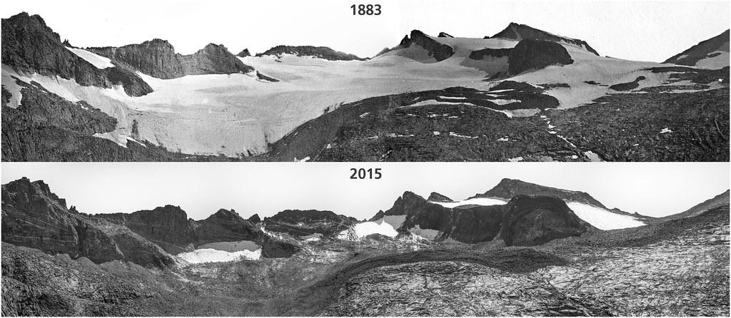 Lyell Glacier 2015  Are there glaciers in Yosemite