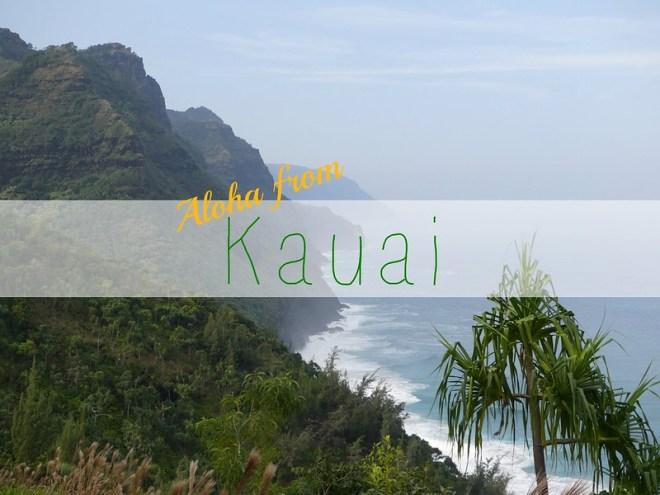 picture aloha from kauai