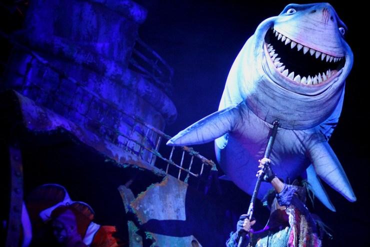 Finding Nemo the Musical Animal Kingdom Oct 2016 15